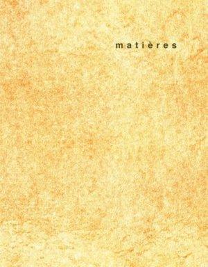 Matières N° 11/2014 - ppur -  presses polytechniques et universitaires romandes - 9782889150656 -