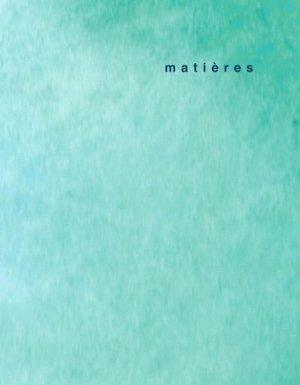 Matières 13 - presses polytechniques et universitaires romandes - 9782889151714 -