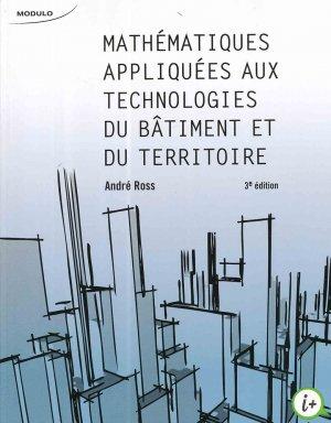 Mathematiques appliquées aux technologies du bâtiment et du territoire - puf - presses universitaires de france - 9782897320492 -