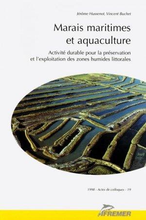 Marais maritime et aquaculture Activité durable pour la préservation et l'exploitation des zones humides - ifremer - 9782905434890 -