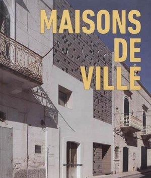 Maisons de ville - du layeur - 9782915126693 -