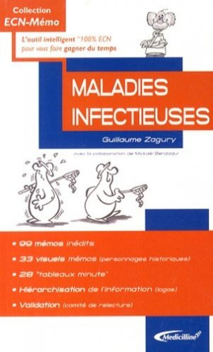 Maladies infectieuses - medicilline - 9782915220452 -