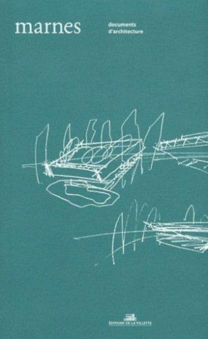 Marnes Documents d'architecture - de la villette - 9782915456714 -