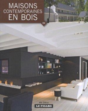 Maisons contemporaines en bois - le figaro - 9782930367767 -