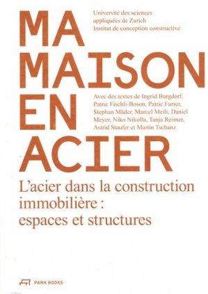 Maison en aciers - park books - 9783038600145 -