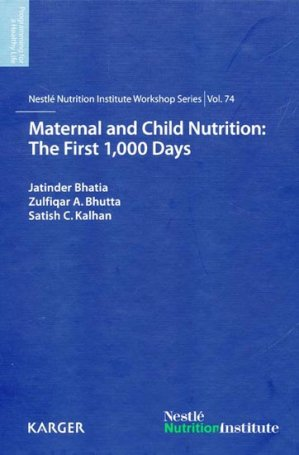 Maternal and Child Nutrition : The first 1,000 days - karger - 9783318023879 -