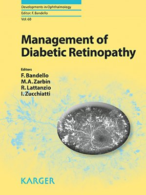 Management of Diabetic Retinopathy - karger  - 9783318060416 -