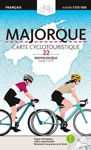Majorque, carte cyclotouristique - nc - 9788484788553 -