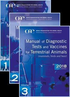 Manuel des tests de diagnostic et des vaccins pour les animaux terrestres de l'OIE - oie - 9789295108189 -