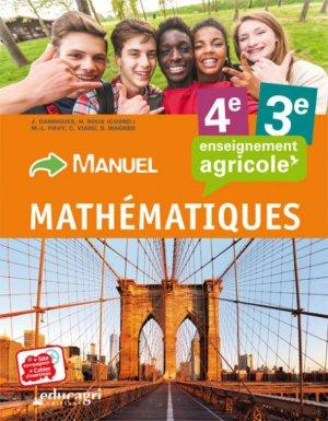 Mathématiques - 4e et 3e - educagri - 9791027501168 -