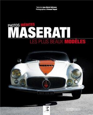 Maserati, les plus beaux modèles - etai - editions techniques pour l'automobile et l'industrie - 9791028304133 -