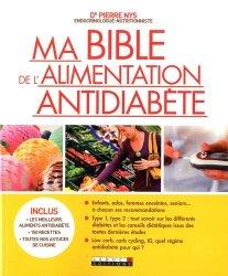 Ma bible de l'alimentation antidiabète - leduc - 9791028504250 -