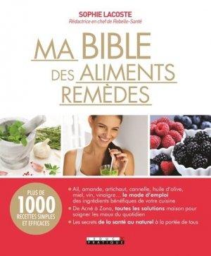 Ma bible des aliments remèdes - leduc - 9791028504960 -
