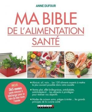Ma bible de l'alimentation santé - leduc - 9791028510770 -
