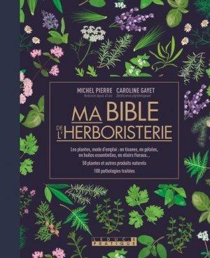 Ma bible de l'herboristerie - leduc - 9791028512019 -