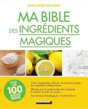 Ma bible des ingrédients magiques - leduc - 9791028513429 -