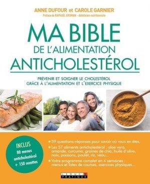 Ma bible anticholestérol - leduc - 9791028513832 -