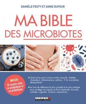 Ma Bible des microbiotes - leduc - 9791028515591