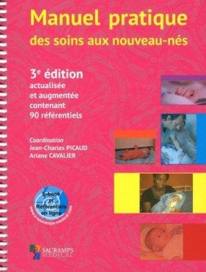 Manuel pratique des soins aux nouveau-nés - sauramps medical - 9791030301588 -