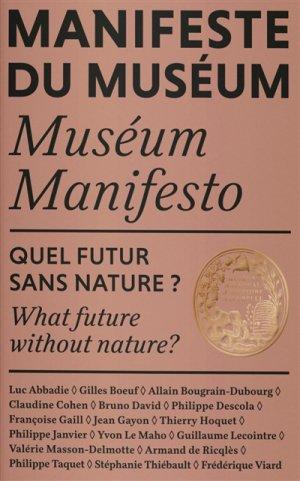 Manifeste de l'histoire naturelle - reliefs - 9791096554263 -