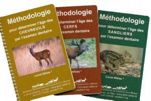 Méthodologie pour déterminer l'âge - 3 livrets - chasse et territoire de l'est - 2225312269039 -