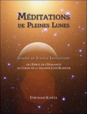 Méditations de pleines lunes - Les Publications Orange Palm - 9780986757068 -