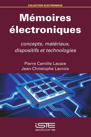 Mémoires électroniques - iste  - 9781784050306 -