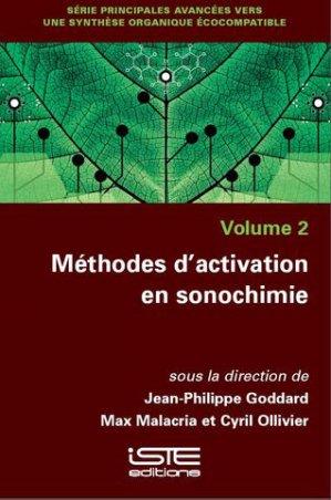 Méthodes d'activation en sonochimie - iste - 9781784055295 -