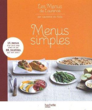 Menus simples - Hachette - 9782012302150 -