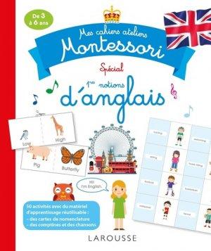 Mes cahiers ateliers Montessori d' anglais - larousse - 9782035947024 -