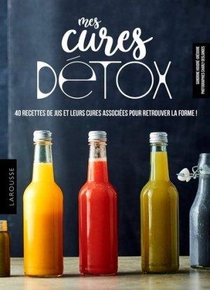 Mes cures detox - larousse - 9782035948298 -