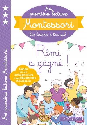Mes premières lectures Montessori, Papa a gagné - larousse - 9782035957283 -