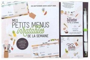 Mes petits menus inratables de la semaine - larousse - 9782035962522 -