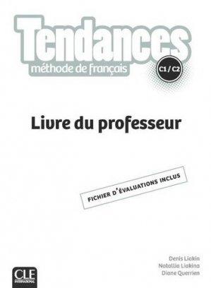 Méthode de français C1/C2 Tendances - nathan - 9782090385397 -