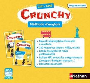 Méthode d'anglais CM1-CM2 Crunchy - nathan - 9782091243733 -