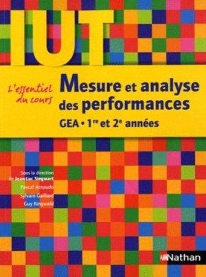 Mesure et analyse des performances GEA 1e et 2e années - Nathan - 9782091617749 -
