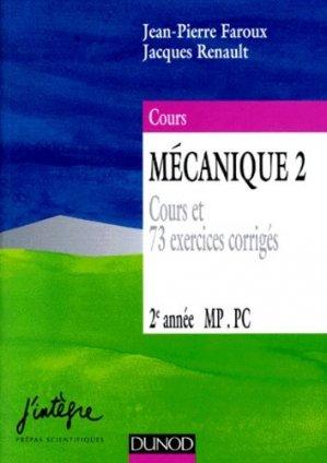 Mécanique 2 2ème année MP PC - dunod - 9782100034321 -