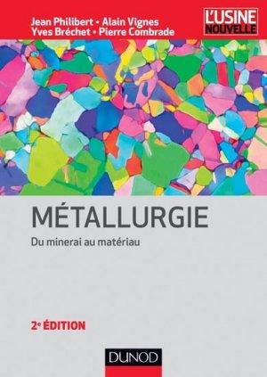 Métallurgie - dunod - 9782100597543 -