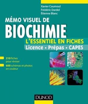 Mémo visuel de biochimie - dunod - 9782100742264 -
