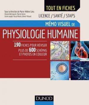 Mémo visuel de physiologie humaine - dunod - 9782100767083 -