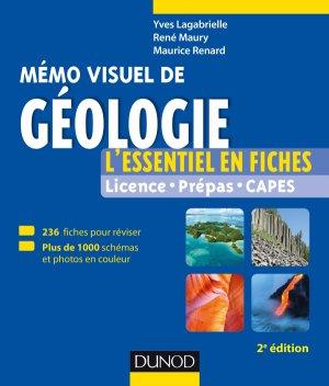 Mémo visuel de géologie - dunod - 9782100769285 -