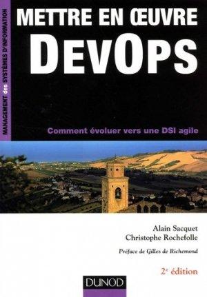 Mettre en oeuvre DevOps - dunod - 9782100779055 -