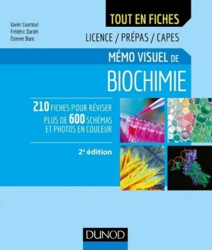 Mémo visuel de biochimie - dunod - 9782100782871 -