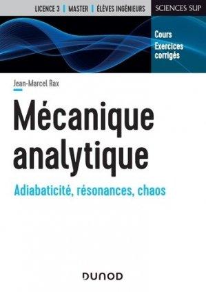 Mécanique analytique - Cours et exercices corrigés - dunod - 9782100795017 -
