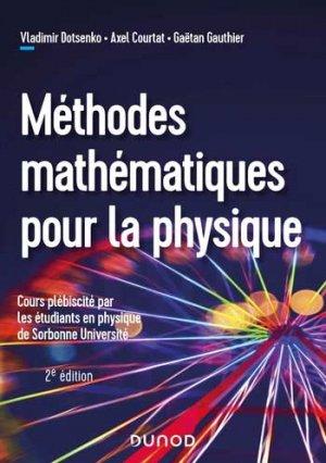 Méthodes mathématiques pour la physique - dunod - 9782100815784 -