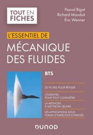 Mécanique des fluides - BTS - Dunod - 9782100818150 -