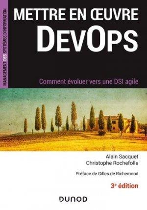 Mettre en oeuvre DevOps - Dunod - 9782100819942 -