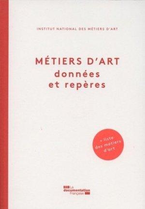Métiers d'art - la documentation francaise - 9782110103390 -