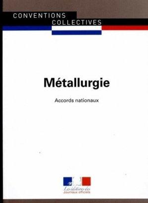 Métallurgie - journaux officiels - 9782110770394 -