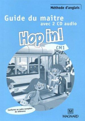 Méthode d'anglais CM1 Hop in! - Magnard - 9782210602274 -